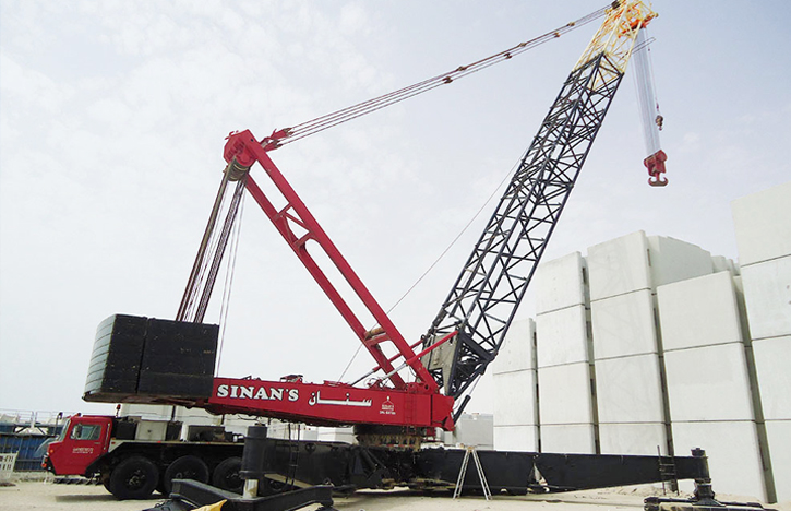 Sinan Heavy Lift - Cranes | Mobile Cranes | Crawl Cranes ::